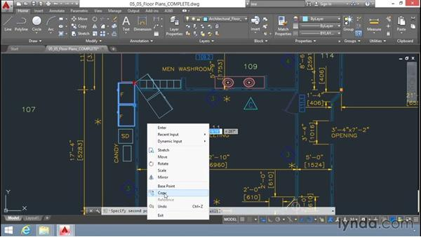Editing with grips: Up and Running with AutoCAD LT
