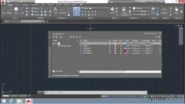 What are layers?: Up and Running with AutoCAD LT