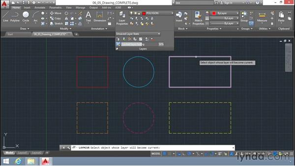Layer tools: Up and Running with AutoCAD LT