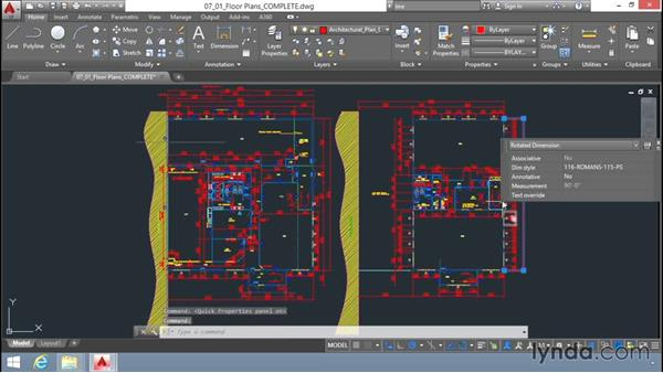 Quick properties: Up and Running with AutoCAD LT