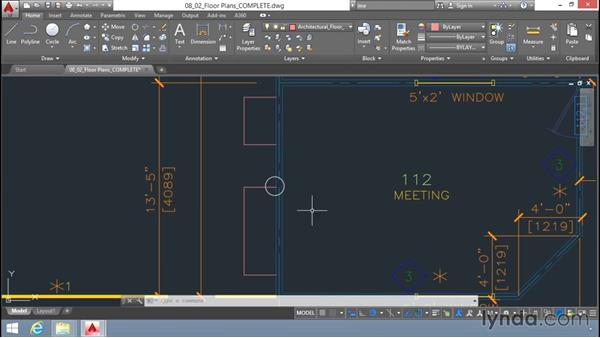 Working with blocks: Up and Running with AutoCAD LT