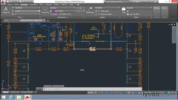 Using multileaders: Up and Running with AutoCAD LT