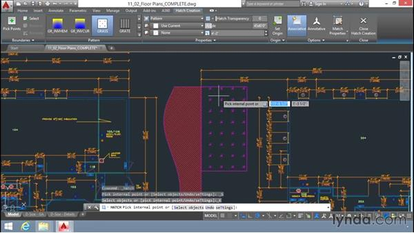 Hatch options: Up and Running with AutoCAD LT