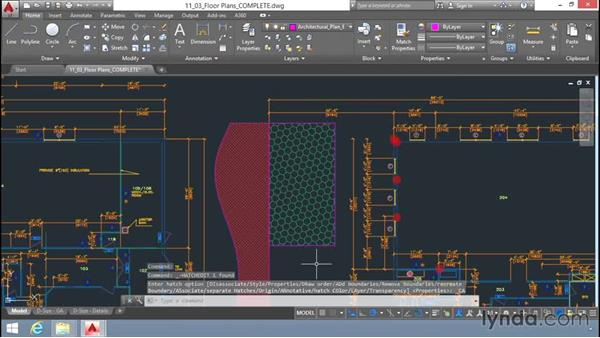 Editing hatches: Up and Running with AutoCAD LT