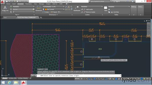 Dimension command: Up and Running with AutoCAD LT