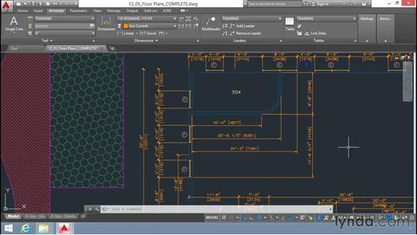 Dimension editing tools: Up and Running with AutoCAD LT