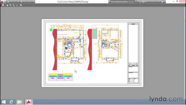 Printing layouts: Up and Running with AutoCAD LT