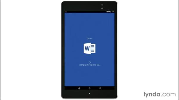 Understanding the free and for-pay features: Up and Running with Office for Android Devices