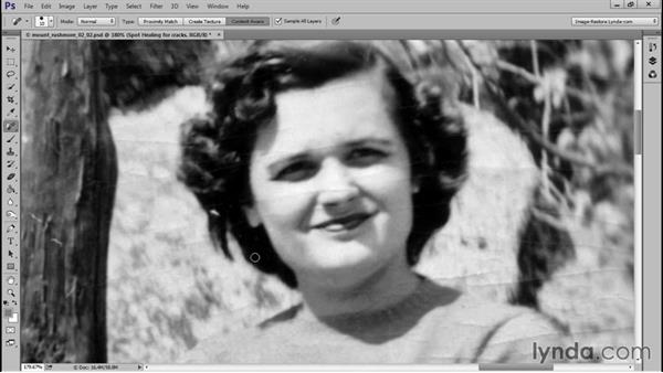 Removing the cracks: Photo Restoration Techniques: Recomposing a Photo