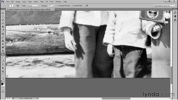 Finishing touches: Photo Restoration Techniques: Recomposing a Photo