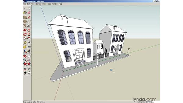 Walking around in SketchUp: SketchUp 6 Essential Training