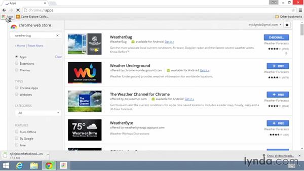 Installing Chrome apps: Up and Running with the Chrome Browser