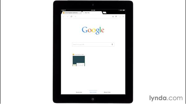 Using Chrome on an iPhone or iPad: Up and Running with the Chrome Browser