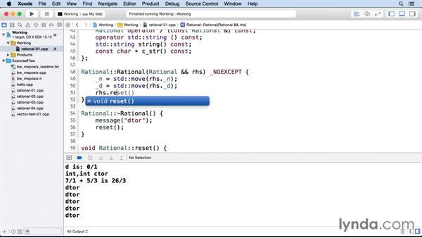 Creating a move constructor: C++ Move Semantics