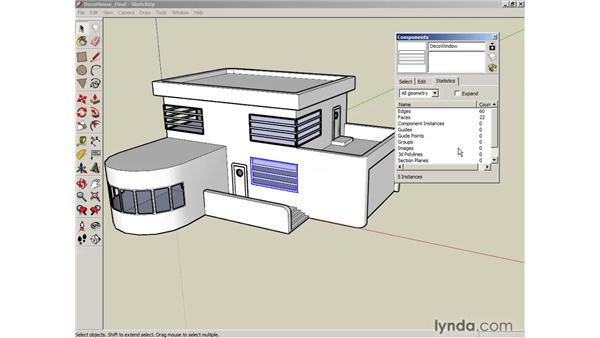 The Component window: SketchUp 6 Essential Training