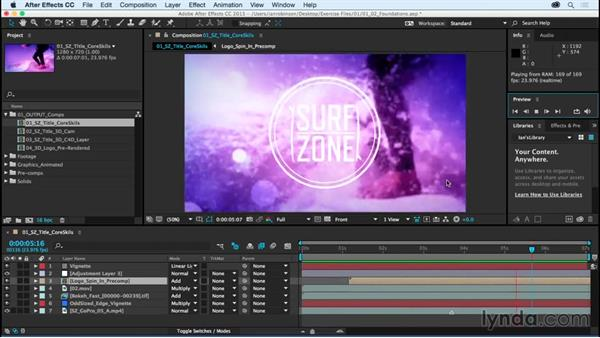 The six foundations of After Effects: After Effects CC Essential Training (2015)
