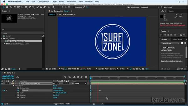 Creating animation: After Effects CC Essential Training (2015)