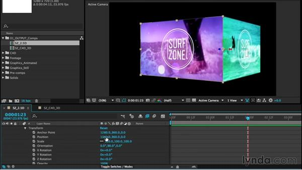 Introduction to 3D: After Effects CC Essential Training (2015)