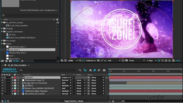 Defining layers: After Effects CC Essential Training (2015)