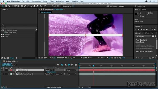 Understanding layer solids: After Effects CC Essential Training (2015)