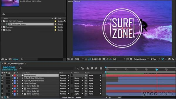 Using null objects: After Effects CC Essential Training (2015)