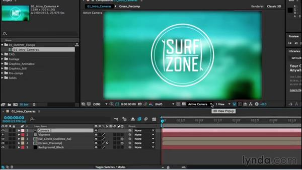 Intro to cameras: After Effects CC Essential Training (2015)