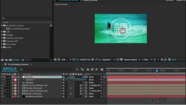 Animating cameras: After Effects CC Essential Training (2015)