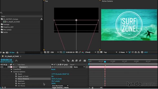 Creating depth of field: After Effects CC Essential Training (2015)