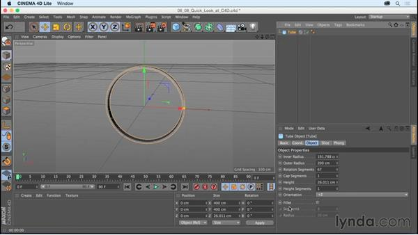 A quick look at CINEMA 4D Lite and After Effects: After Effects CC Essential Training (2015)