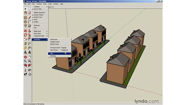 Basic animation: SketchUp 6 Essential Training