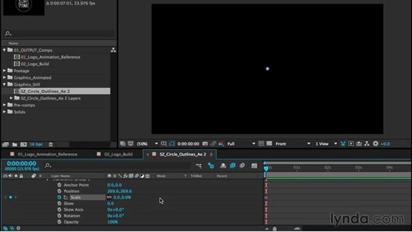 Animating a logo, part one: Circles: After Effects CC Essential Training (2015)