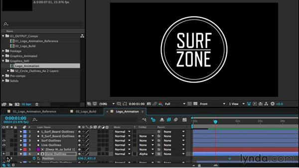 Animating a logo, part two: Text: After Effects CC Essential Training (2015)