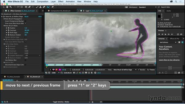 Introducing the Roto Brush: After Effects CC Essential Training (2015)