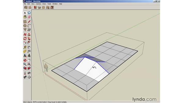 Creating terrain from scratch: SketchUp 6 Essential Training