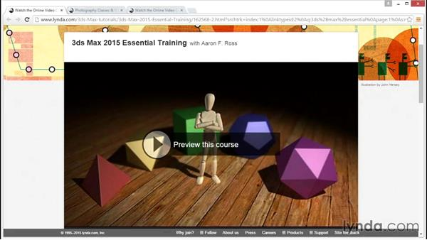 What you should know before watching this course: V-Ray 3.0 for 3ds Max Essential Training