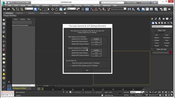 Gamma handling: V-Ray 3.0 for 3ds Max Essential Training