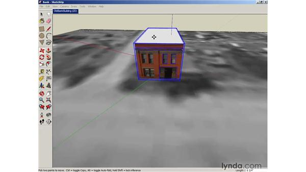 Exporting models to Google Earth: SketchUp 6 Essential Training
