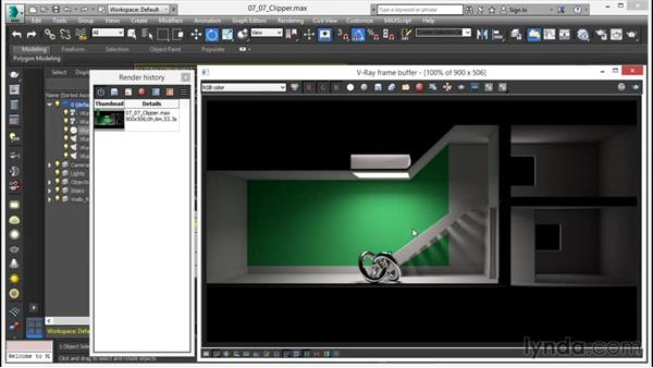 The VRayClipper: V-Ray 3.0 for 3ds Max Essential Training
