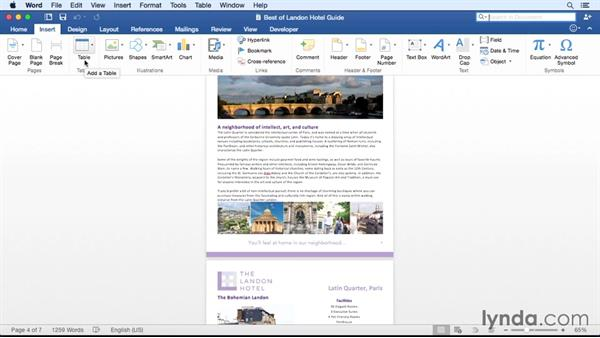 Exploring the improved Ribbon: Office for Mac 2016 New Features