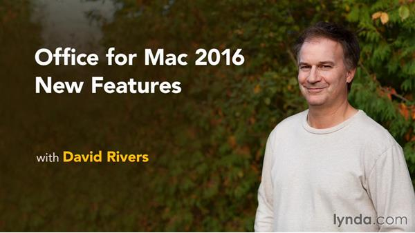 Next steps: Office for Mac 2016 New Features