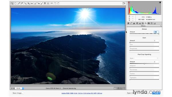 Using Dehaze in a worklfow: Photoshop for Photographers: 2015 Creative Cloud Updates