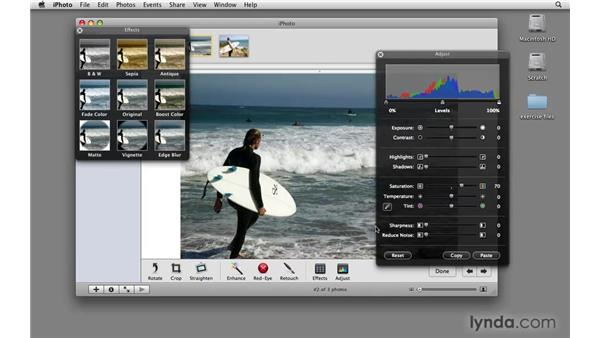 Importing from iPhoto: Final Cut Express 4 Essential Training