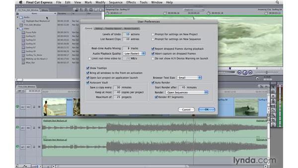Using the Trim Edit window: Final Cut Express 4 Essential Training