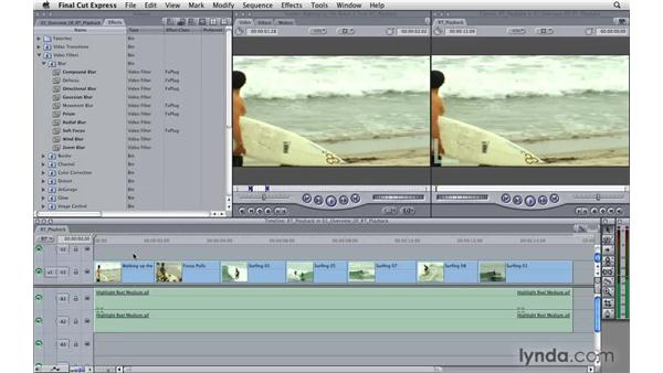 Overview of RT playback: Final Cut Express 4 Essential Training