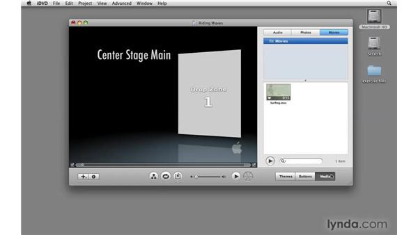 Exporting for DVD authoring: Final Cut Express 4 Essential Training