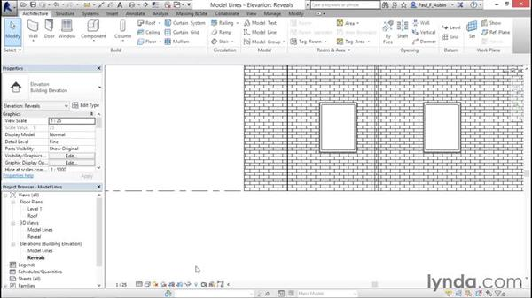 Model lines: Revit Architecture 2016 Essential Training (Imperial)