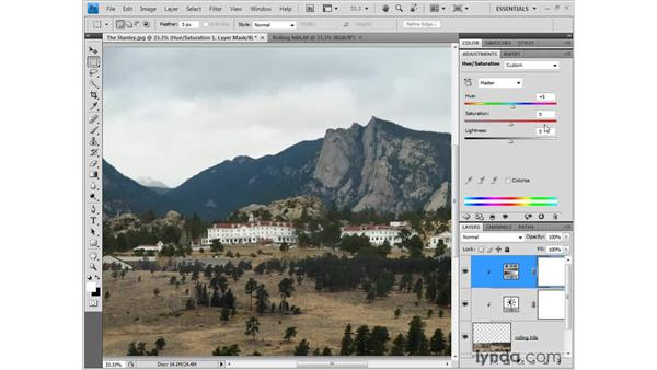 Adjusting color and tone: Photoshop CS4 One-on-One: Fundamentals