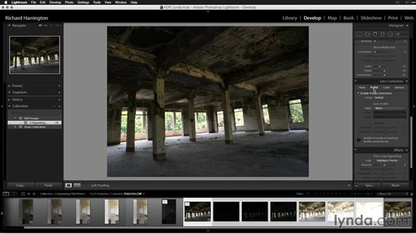 Develop and merge or merge and develop?: Creating High-Dynamic Range (HDR) Photos with Lightroom
