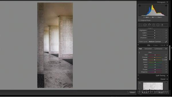 Developing the new HDR DNG file: Creating High-Dynamic Range (HDR) Photos with Lightroom