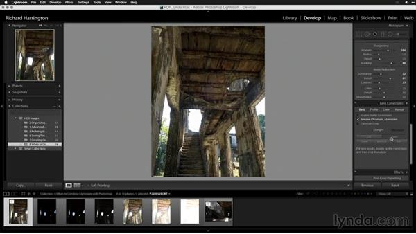 Preparing the HDR file for Photoshop: Creating High-Dynamic Range (HDR) Photos with Lightroom
